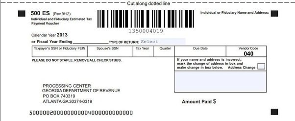 2018 federal estimated tax voucher forms