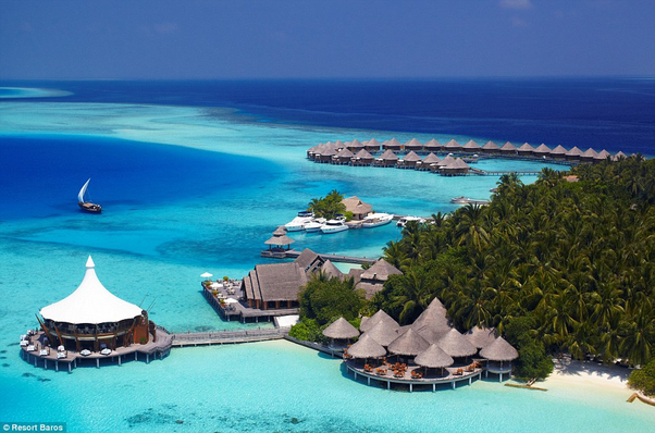 The Maldives Long Seen As One Of Most Places In World To Go On Holiday Still Stuns Visitors With Its Crystal Clear Waters