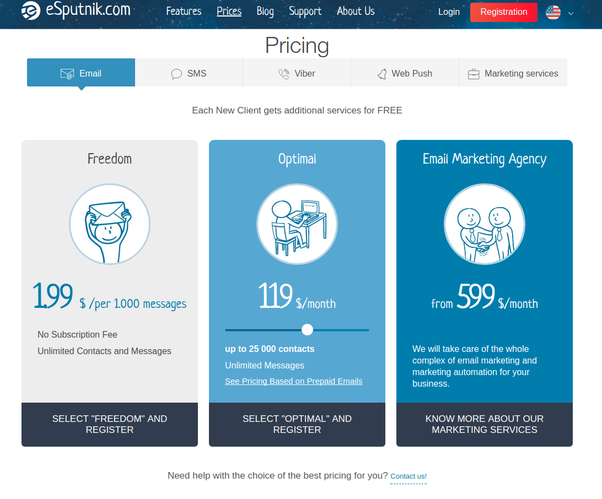 which is the cheapest pay as you go email marketing service quora