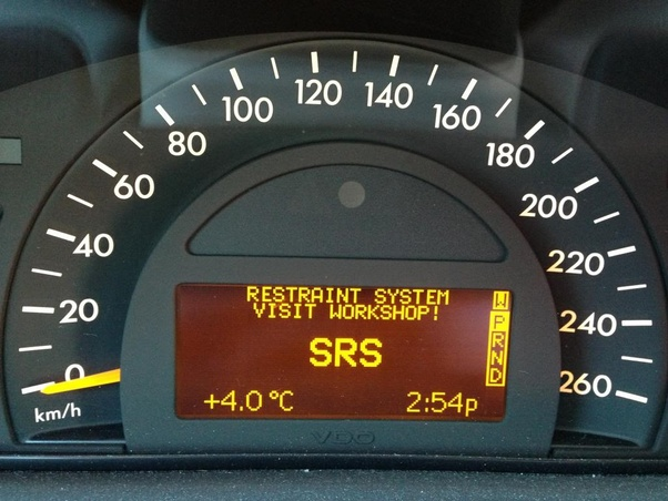 What does 39 srs 39 mean on the dash of a mercedes benz quora for 2001 mercedes benz c320 owners manual