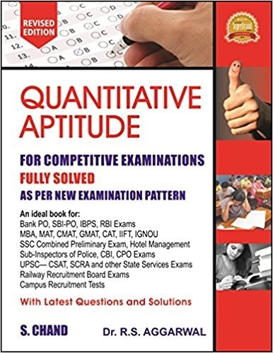 Which are the best books for the preparation of bank po quora 2 quantitative aptitude by r s aggarwal fandeluxe Image collections
