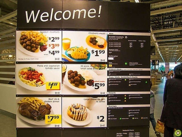 Unlike Costco Ikea Offers A Breakfast Menu Designed To Pull Those Early Morning Pers Into The S When Traffic Is Traditionally Low They Have
