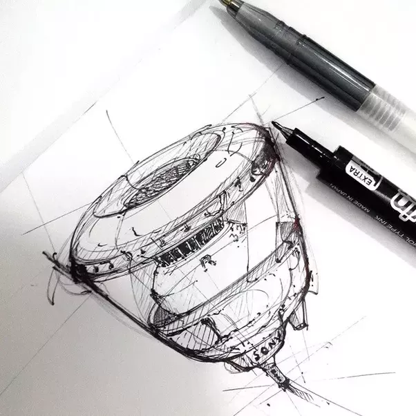 what is a good resource for learning to sketch for industrial design