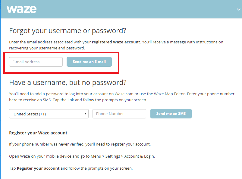 If I forget my Waze username, is it possible to get it back? - Quora