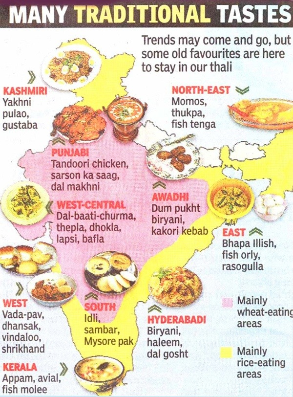 What are the top healthy vegetarian dishes in your state in india illustrated food recipe map of india forumfinder Choice Image
