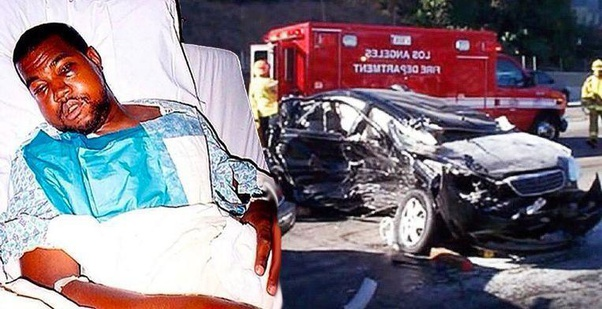 How serious was Kanye West's car crash? - Quora