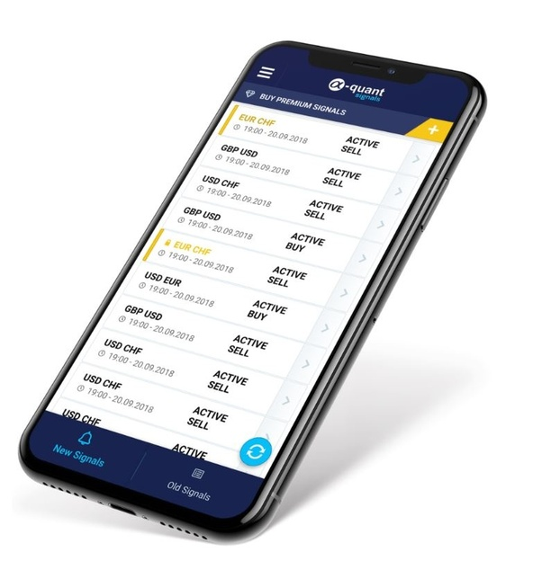 What is the best forex signal app