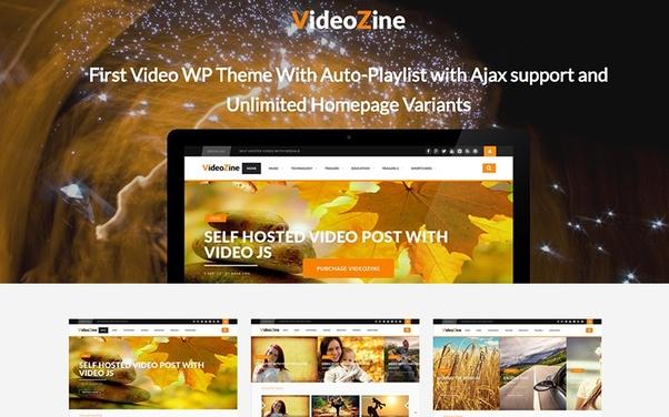 What's the best WordPress theme to create a mini YouTube