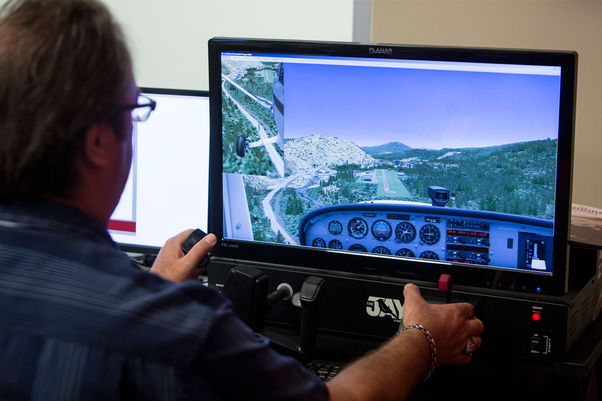Is flight simulation on a PC, with good equipment, valuable