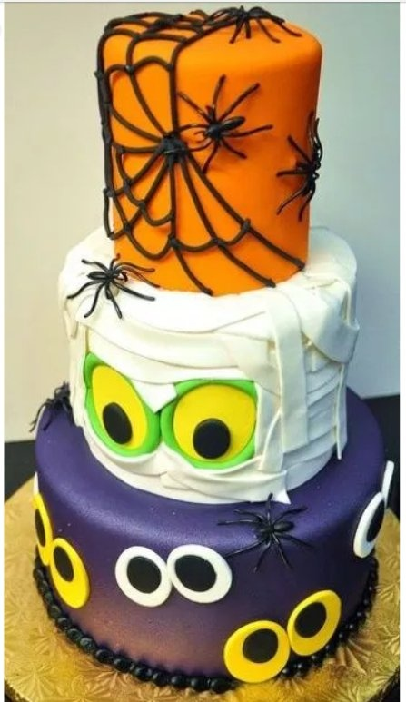 Swell What Are Some Ideas Of Halloween Birthday Cakes For Kids Quora Funny Birthday Cards Online Barepcheapnameinfo