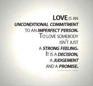 define personally love? How you would
