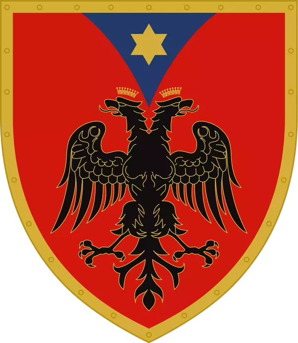 Why Is A Two Headed Eagle The Symbol Of Albania Quora
