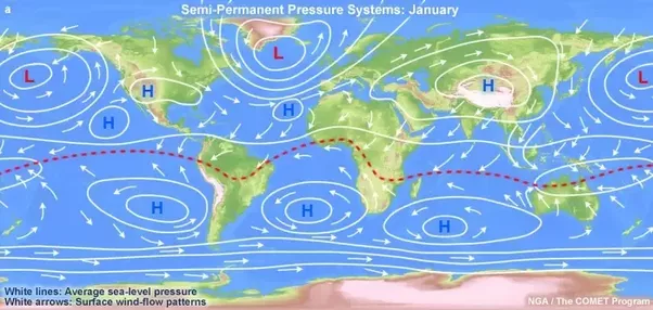 How winds are born quora image semi permanent pressure systems january publicscrutiny Images