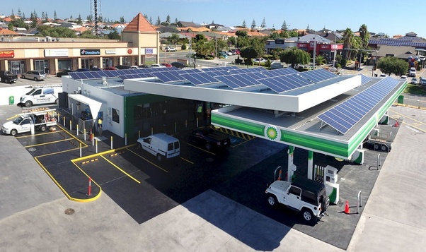 How Practical Would It Be For Gas Stations To Put A Solar
