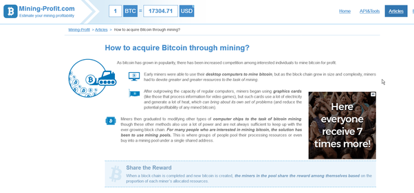 It is described in depth here How to get Bitcoins with mining?