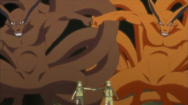What If Naruto Had Both Halves Of The Nine Tails Quora