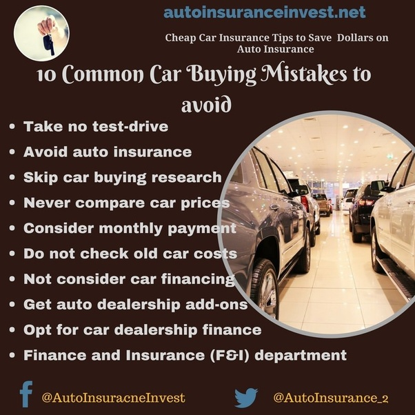 What Are The Biggest Mistakes When Trying To Buy A Cheap Used Car