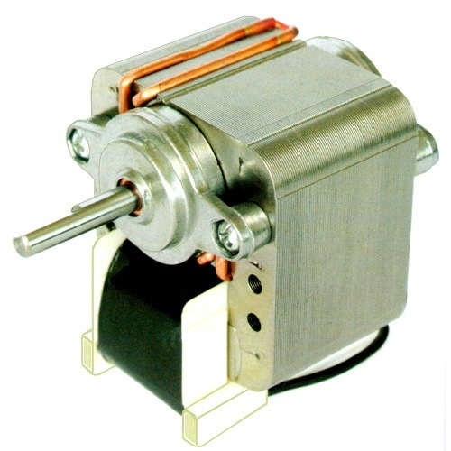 A microwave turntable uses a synchronous motor and as far for Shaded pole induction motor