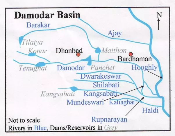 Why Damodar River Is Called Sorrow Of Bengal Quora