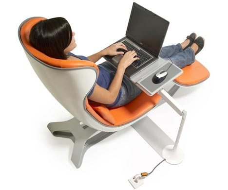 what is the most comfortable chair design for using a laptop quora