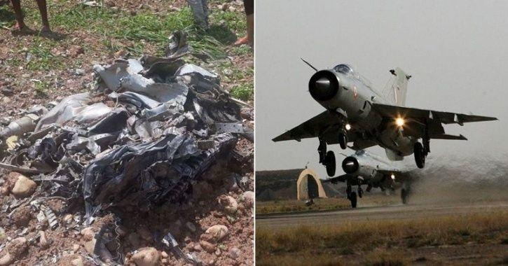 Why didn't the pilot eject from the MIG-21 in the recent