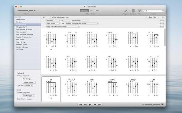 Guitar tuner app for mac