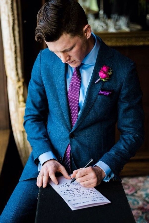 What Will Be Best Colour Combination For A Groom S Suit