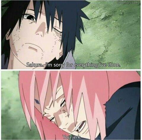 Has Sasuke always loved Sakura, or is it more recent? - Quora