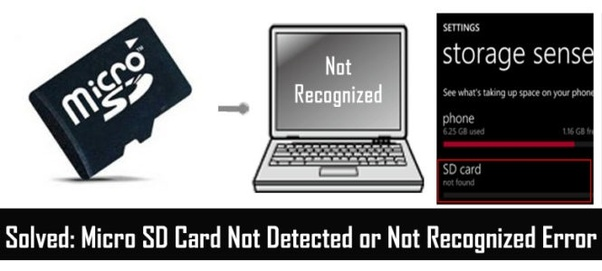 Is it possible to retrieve an unrecognized micro SD card