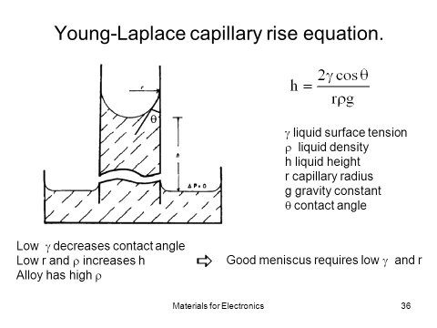 Does The Rise Of Liquid In A Capillary Tube Depends On The Mass Of