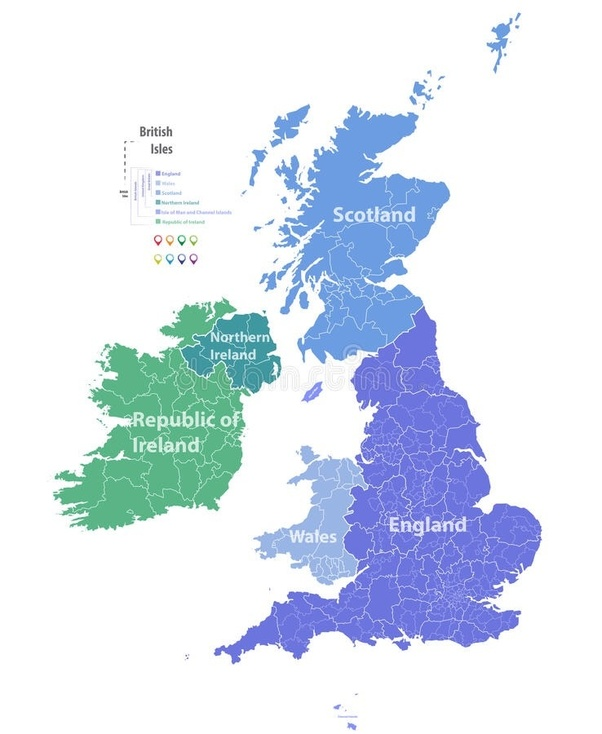 Map Of England Europe.Is England In Europe Quora