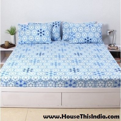 Once Visit HouseThisIndia.com And Get Best Offers To Buy Bed Covers, Bed  Sheets With Pillow Covers