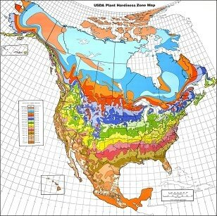 Which country has the worst climate quora above is a diagram of all the usda plant hardiness zones stretching across north america and hawaii since the usda plant hardines zones are zones that sciox Gallery