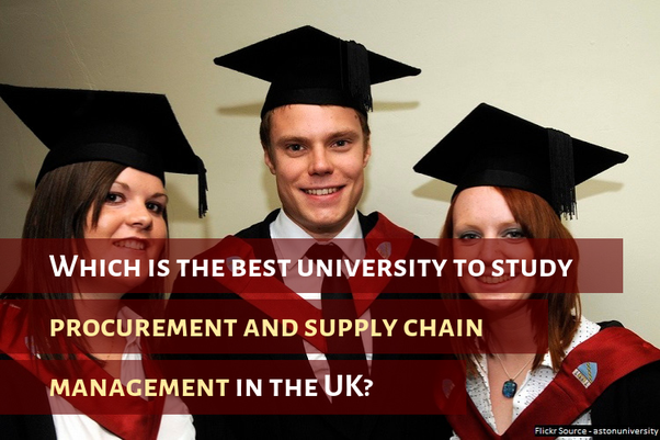 Which is the best university to study procurement and supply