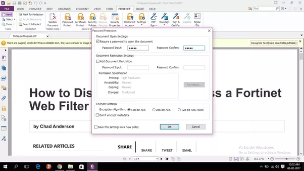 how to create a pdf file using foxit reader