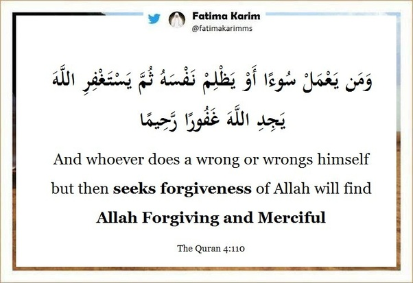 How is forgiveness seen in Islam? - Quora