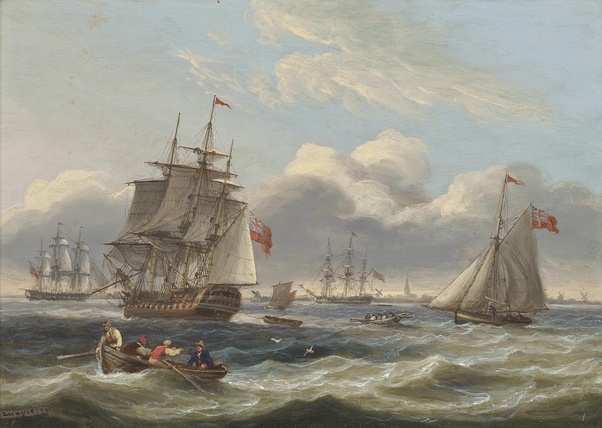 How many ships were in the fleet of the British Royal Navy during 1776? - Quora