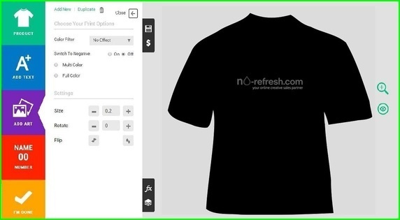 Who is the best custom t shirt design software providers for Custom t shirt software
