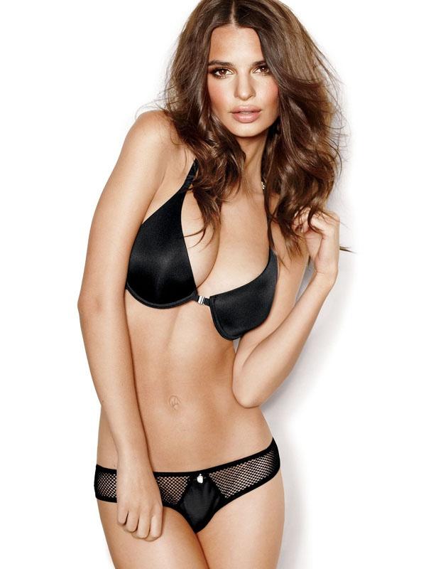 f455cc7f593 Is Emily Ratajkowski a good choice to market lingerie  - Quora