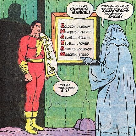 DC Comics: What does SHAZAM stand for? - Quora