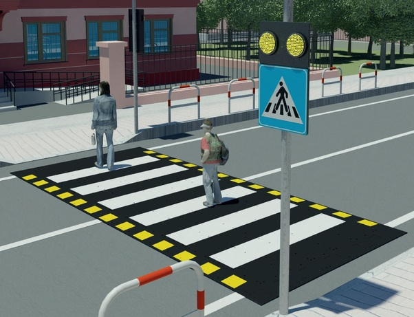 What is called pedestrian crossing? - Quora