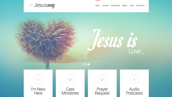 What are the Best WordPress themes for church websites? - Quora