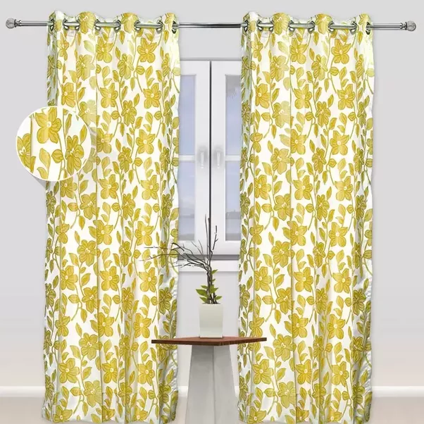 The Cotton Fabric Used Curtains Will Give A Traditional Modern Decorative Look This Simple Curtain Blossom Up Extravagant Beauty Of Any Place