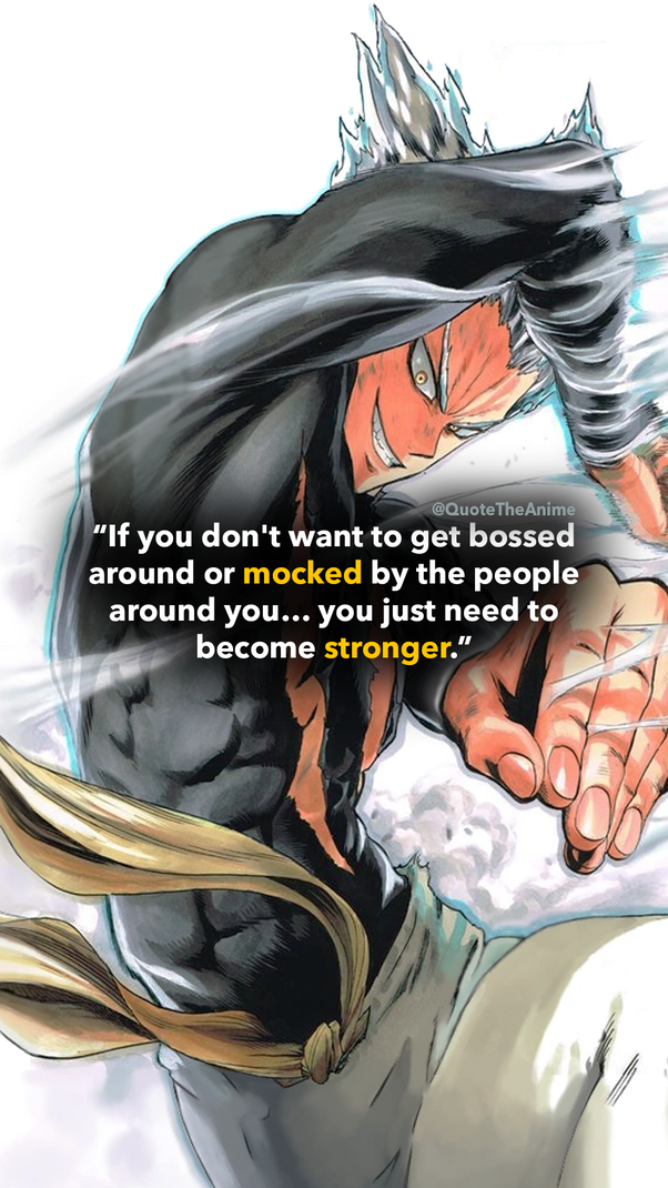 What is your favorite quote from a villain in anime? - Quora