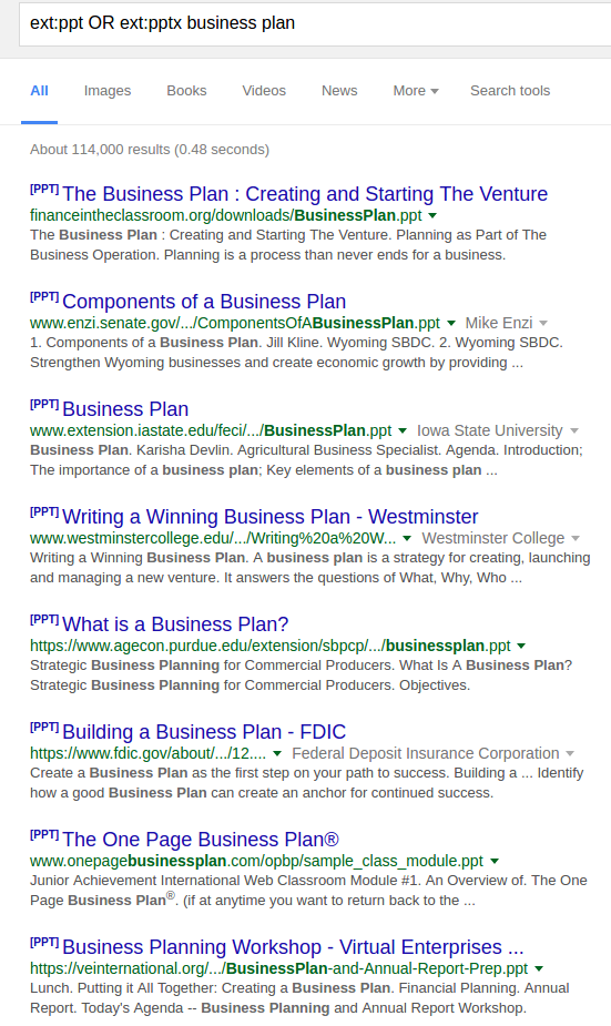What are some web sites with cool and free powerpoint templates quora as you can see in the example below there are about 114 000 results in ppt or pptx format about the business plans toneelgroepblik Image collections