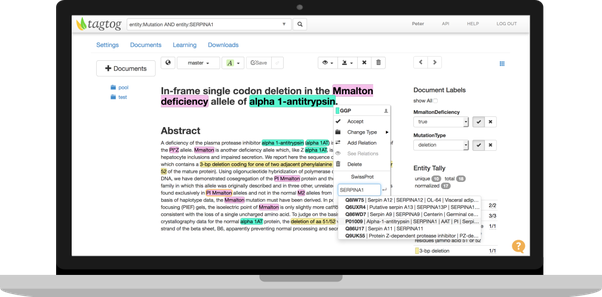 What are the best tools for manually annotating a text corpus with