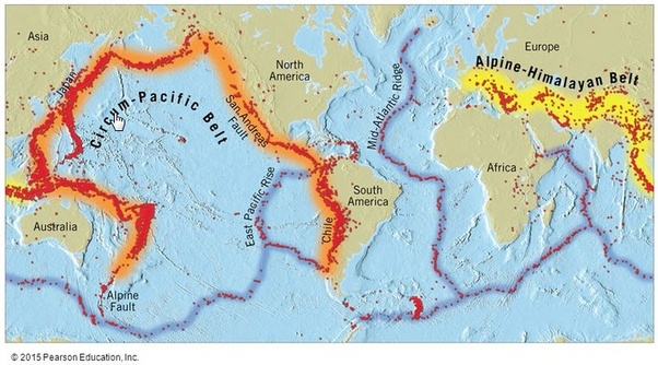 What is the meaning of earthquake belt? - Quora