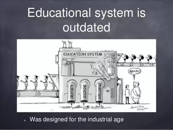 "what our education system needs is ""what our education system needs is more f's"" i suggest that instituting merit raises, getting back to basics, marrying the university to industry, and the."