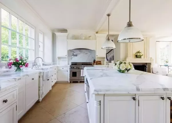Marble Counters Are Not Quite As Common As Granite, Especially In The  Kitchen, But They Are A Well Loved Option.