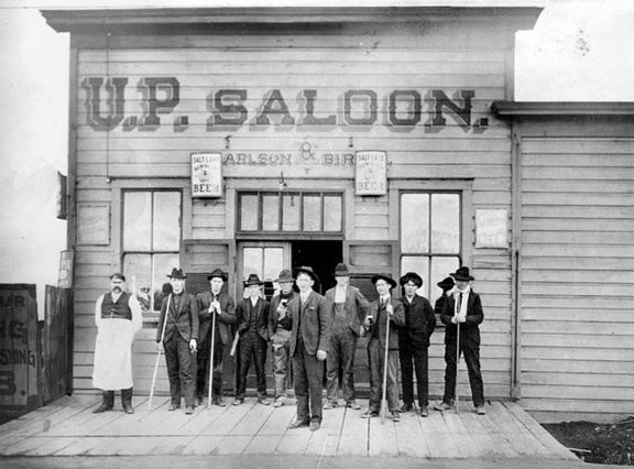 How Likely Is It That An Old West Saloon Had A Large Glass